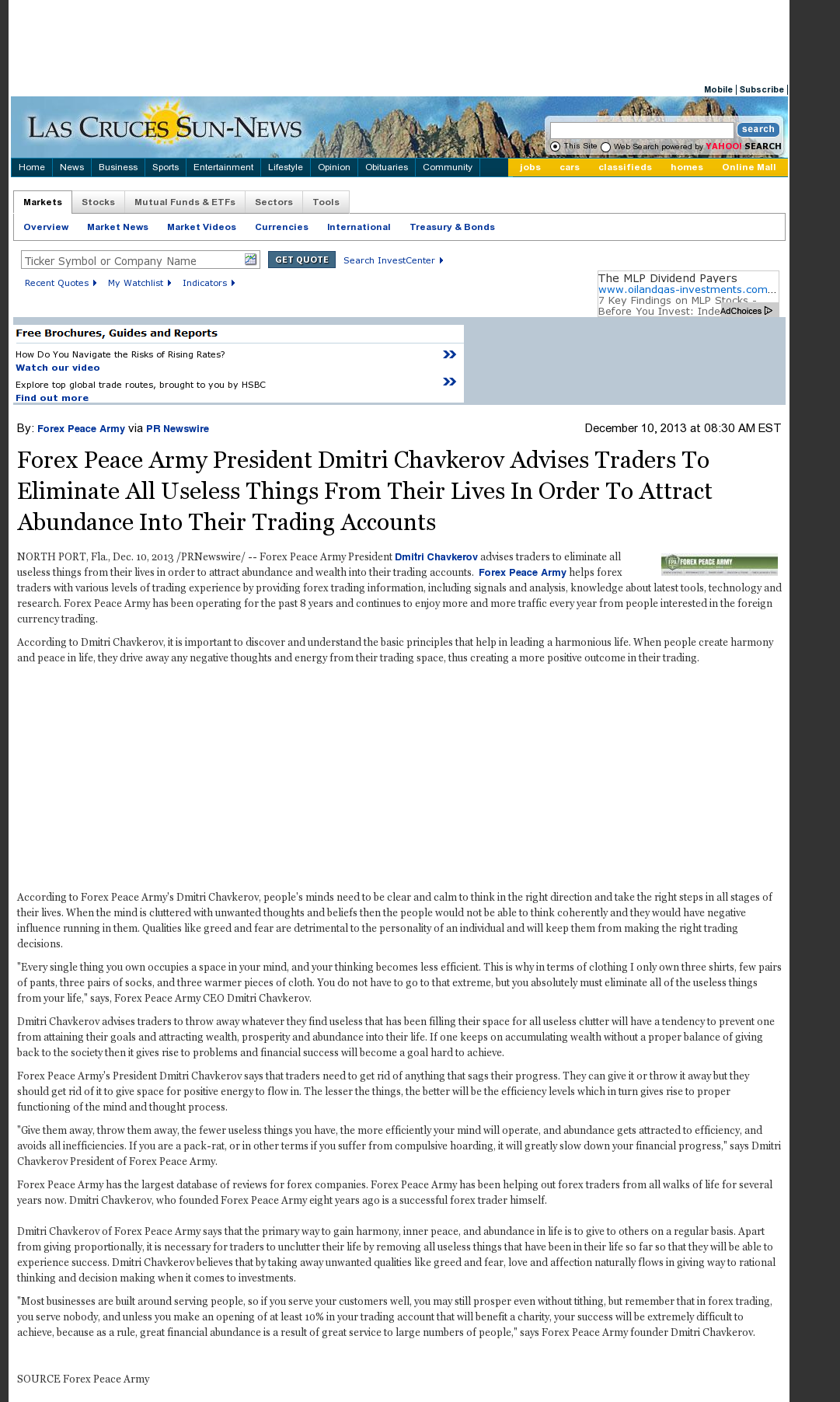 Forex strategy secrets forex peace army