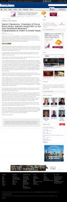 Dmitri Chavkerov -  Baltimore Business Journal - Paying Taxes and Saving