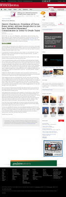Dmitri Chavkerov -  Boston Business Journal - Paying Taxes and Saving