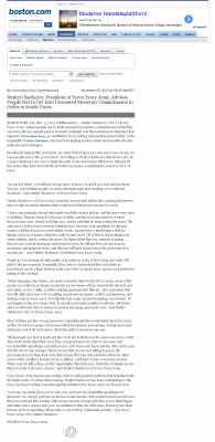 Dmitri Chavkerov -  Boston Globe - Paying Taxes and Saving