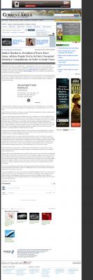 Dmitri Chavkerov -  Carlsbad Current-Argus (Carlsbad, NM) - Paying Taxes and Saving