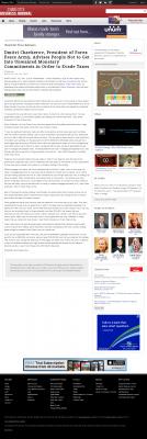 Dmitri Chavkerov -  Charlotte Business Journal - Paying Taxes and Saving