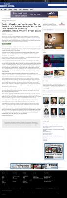 Dmitri Chavkerov -  Chicago Business News - Paying Taxes and Saving