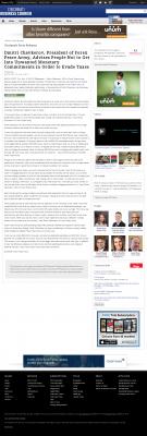 Dmitri Chavkerov -  Cincinnati Business Courier - Paying Taxes and Saving
