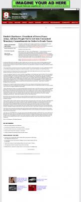 Dmitri Chavkerov -  KAIT ABC-8 (Jonesboro, AR) - Paying Taxes and Saving