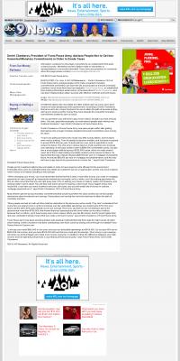 Dmitri Chavkerov -  KCAU ABC-9 (Sioux City, IA) - Paying Taxes and Saving