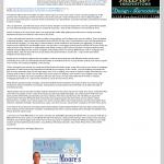 Dmitri Chavkerov | Paying taxes and saving as path to success article in KIII-TV ABC-3 (Corpus Christi, TX)