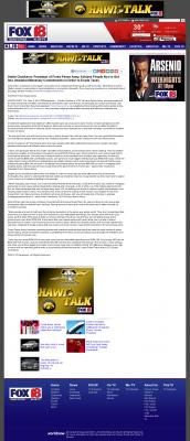 Dmitri Chavkerov -  KLJB-TV FOX-18 (Davenport, IA) - Paying Taxes and Saving