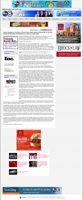 Dmitri Chavkerov -  KLKN ABC-8 (Lincoln, NE) - Paying Taxes and Saving