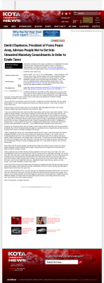 Dmitri Chavkerov -  KOTA ABC-3 (Rapid City, SD) - Paying Taxes and Saving