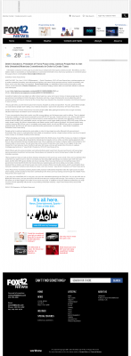 Dmitri Chavkerov -  KPTM-TV FOX-42 (Omaha, NE) - Paying Taxes and Saving
