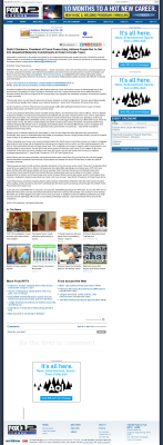 Dmitri Chavkerov -  KPTV-TV FOX-12 (Beaverton, OR) - Paying Taxes and Saving