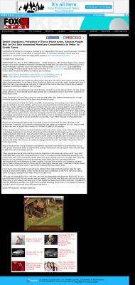 Dmitri Chavkerov -  KTVG-TV FOX-17 / KSNB-TV FOX-4 (Kearney, NE) - Paying Taxes and Saving