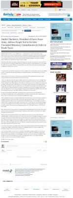 Dmitri Chavkerov -  Lexington Herald-Leader (Lexington, KY) - Paying Taxes and Saving