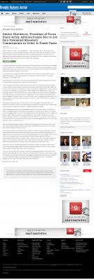 Dmitri Chavkerov -  Memphis Business Journal - Paying Taxes and Saving