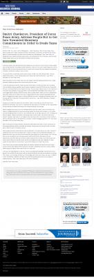 Dmitri Chavkerov -  New York Business Journal - Paying Taxes and Saving