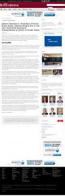 Dmitri Chavkerov -  Orlando Business Journal - Paying Taxes and Saving