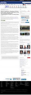 Dmitri Chavkerov -  Philadelphia Business Journal - Paying Taxes and Saving