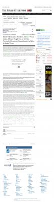 Dmitri Chavkerov -  Press-Enterprise - Paying Taxes and Saving