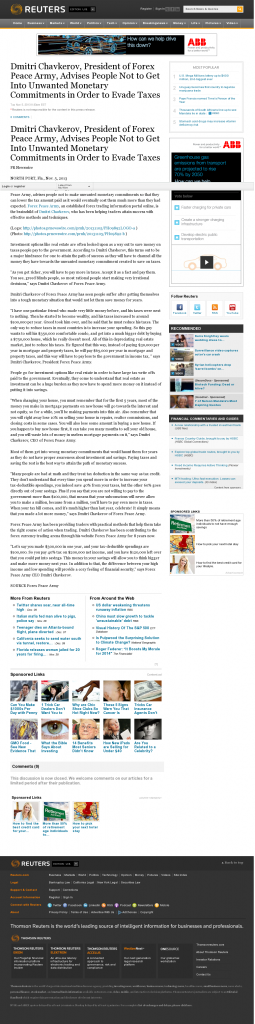 Dmitri Chavkerov - Reuters- Paying Taxes and Saving