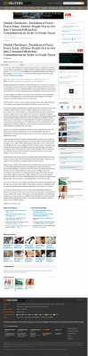 Dmitri Chavkerov -  Reuters - Paying Taxes and Saving