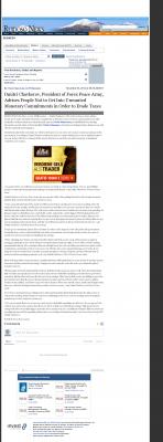 Dmitri Chavkerov -  Ruidoso News (Ruidoso, NM) - Paying Taxes and Saving