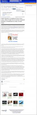 Dmitri Chavkerov -  San Bernardino County Sun (San Bernardino, CA) - Paying Taxes and Saving