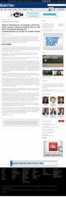 Dmitri Chavkerov -  San Francisco Business Times - Paying Taxes and Saving
