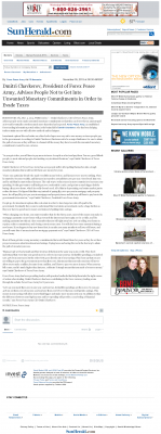 Dmitri Chavkerov -  Sun Herald (Biloxi, MS) - Paying Taxes and Saving