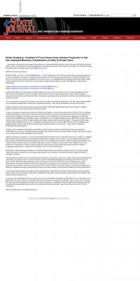 Dmitri Chavkerov -  The State Journal (Charleston, WV) - Paying Taxes and Saving