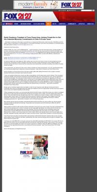 Dmitri Chavkerov -  WFXR-TV FOX-21/27 (Roanoke, VA) - Paying Taxes and Saving