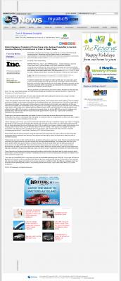 Dmitri Chavkerov -  WOI ABC-5 (West Des Moines, IA) - Paying Taxes and Saving
