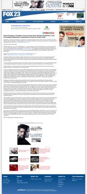 Dmitri Chavkerov -  WPFO-TV FOX-23 (Portland, ME) - Paying Taxes and Saving