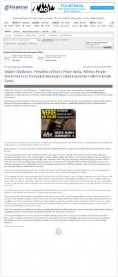 Dmitri Chavkerov -  WR Hambrecht & Co. - Paying Taxes and Saving
