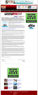 Dmitri Chavkerov -  WSFX-TV FOX-26 (Wilmington, NC) - Paying Taxes and Saving