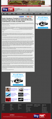Dmitri Chavkerov -  WTLH-TV FOX-49 (Tallahassee, FL) - Paying Taxes and Saving