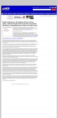 Dmitri Chavkerov -  WWBT NBC-12 (Richmond, VA) - Paying Taxes and Saving