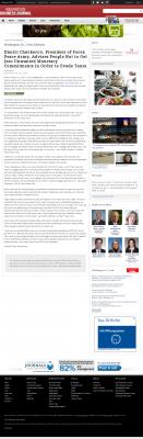 Dmitri Chavkerov -  Washington Business Journal - Paying Taxes and Saving