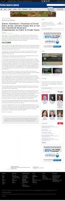 Dmitri Chavkerov -  Wichita Business Journal - Paying Taxes and Saving