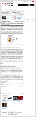 Dmitri Chavkerov -  eMoneyDaily - Paying Taxes and Saving