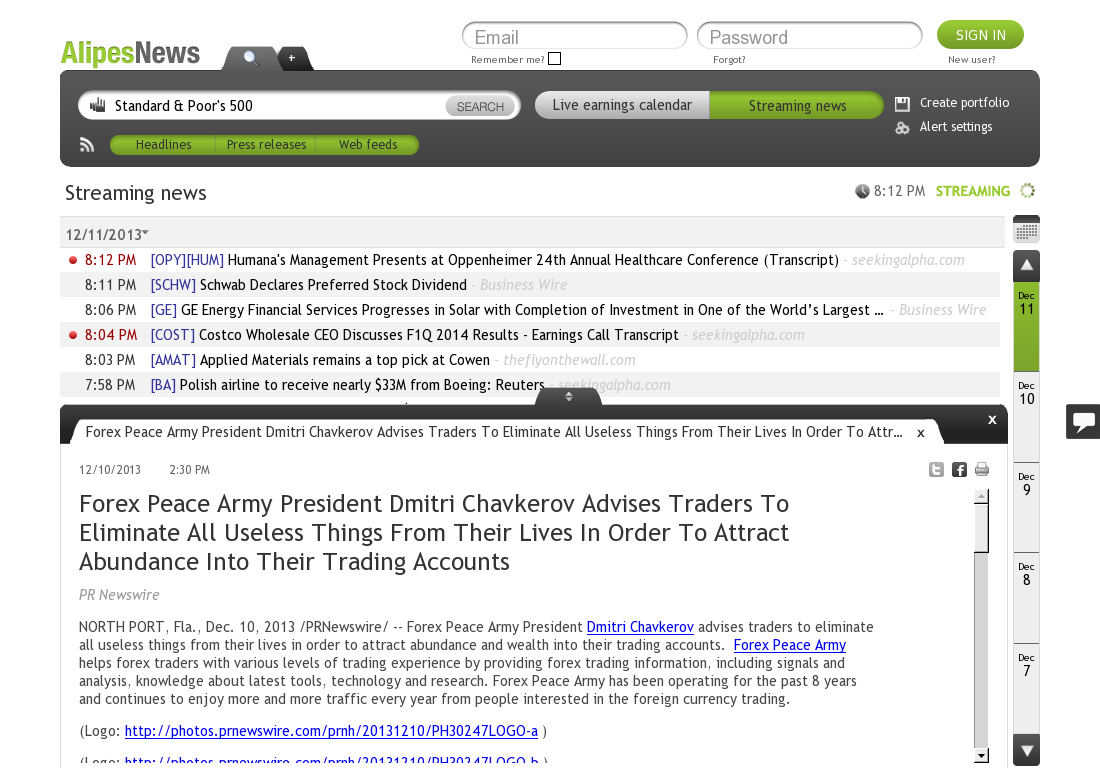Forex Peace Army - AlipesNews- Attracting Wealth