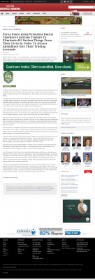 Forex Peace Army -  Boston Business Journal - Attracting Wealth