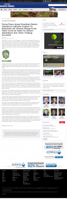 Forex Peace Army -  Business Journal of Phoenix - Attracting Wealth