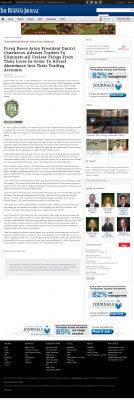 Forex Peace Army -  Business Journal of the Greater Triad Area - Attracting Wealth