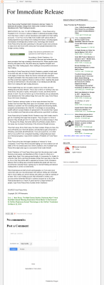 Forex Peace Army -  For Immediate Release - Attracting Wealth