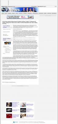 Forex Peace Army -  KCAU ABC-9 (Sioux City, IA) - Attracting Wealth