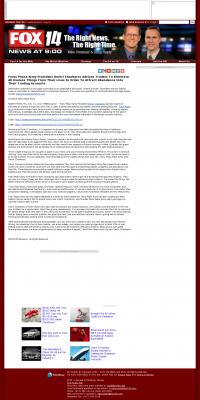 Forex Peace Army -  KFJX-TV FOX-14 (Pittsburg, KS) - Attracting Wealth