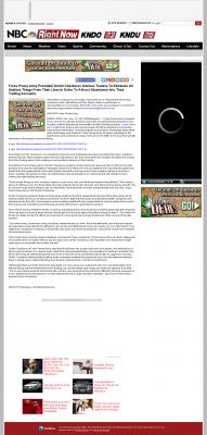 Forex Peace Army -  KNDO-TV NBC-3 (Yakima, WA) - Attracting Wealth