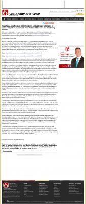 Forex Peace Army -  KOTV-TV CBS-6 (Tulsa, OK) - Attracting Wealth