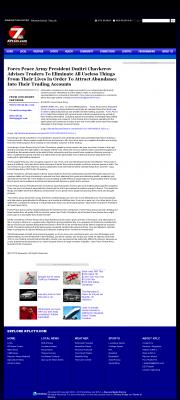 Forex Peace Army -  KPLC NBC-7 (Lake Charles-Lafayette, LA) - Attracting Wealth